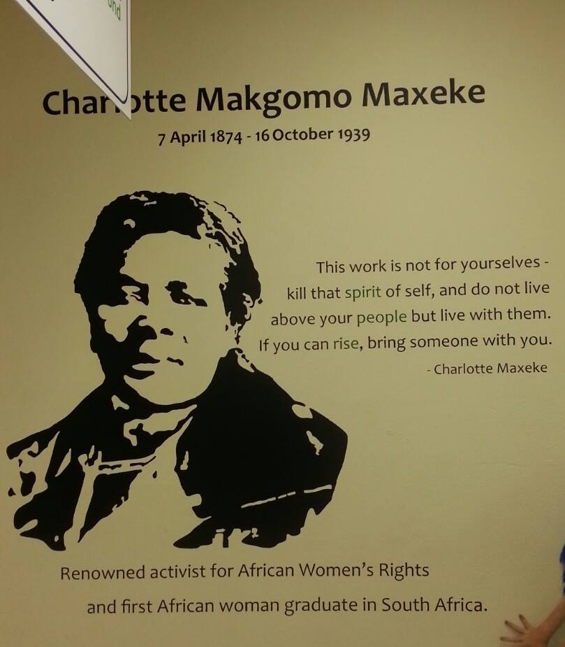 Mother of African Freedom - Charlotte Maxeke